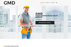 Conception site internet gmd75.fr